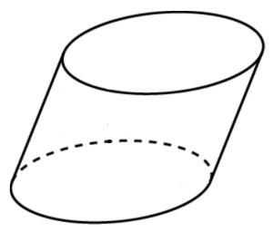 postroenie-razvertki-naklonnogo-ellipticheskogo-cilindra-s-krugovymi-osnovaniyami